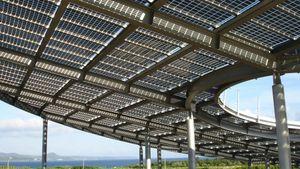 太陽光電系統:晶心花園